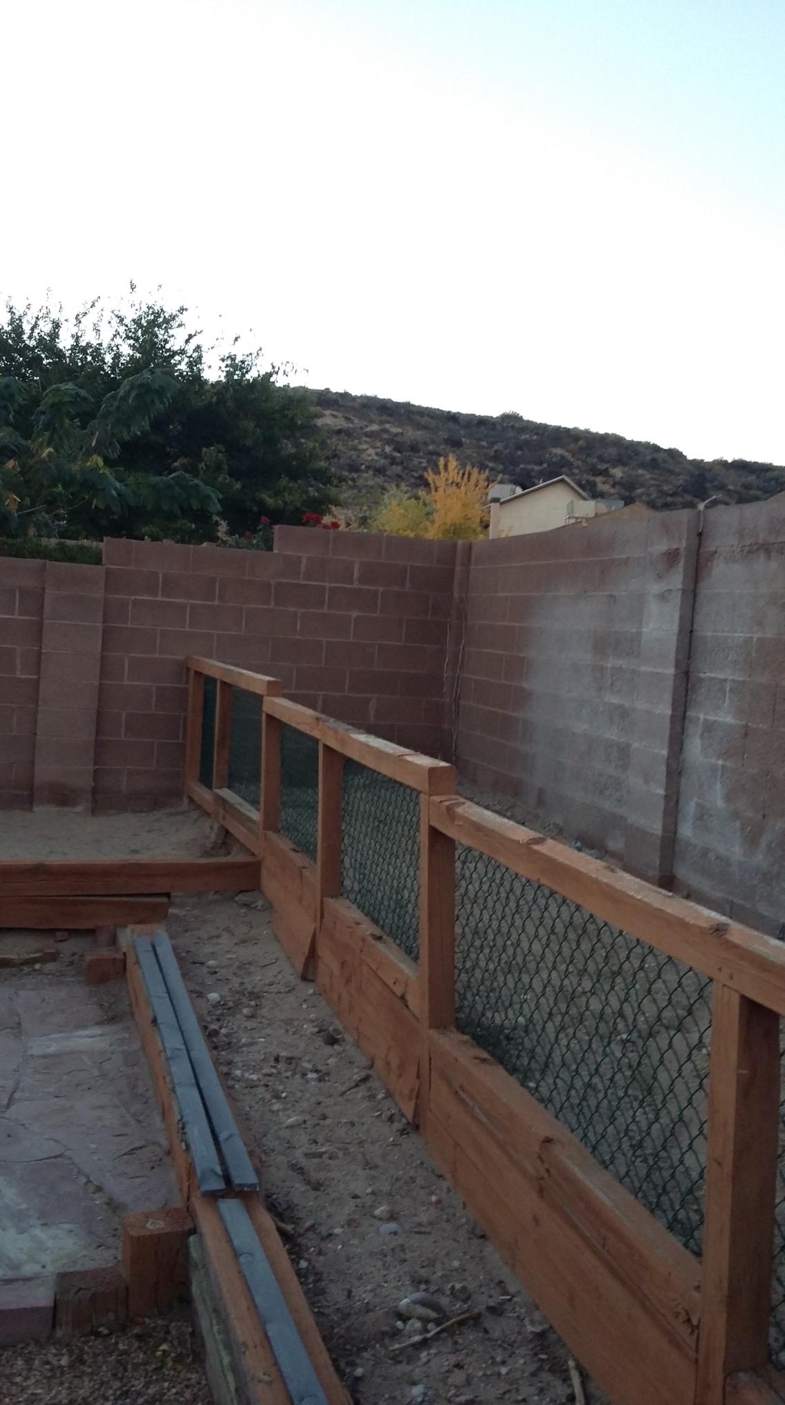 backyard beginnning 2